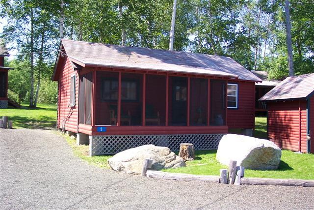 cabin 5 outside