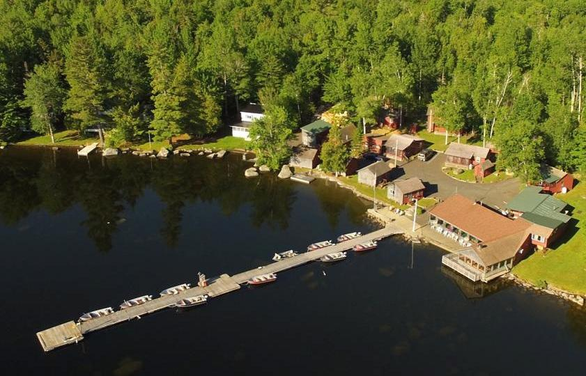 Rideout 39 s lodge iconic maine fishing and family vacation for Lake fishing near me