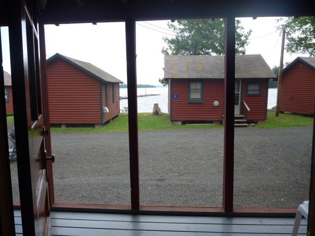 cabin 7 screen porch view